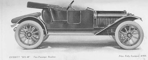 Everitt  American Automotive roadster 1912