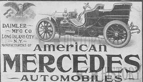 American Mercedes usa history