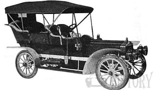 Harrison  American Automotive manufacturer Michigan model B 1906