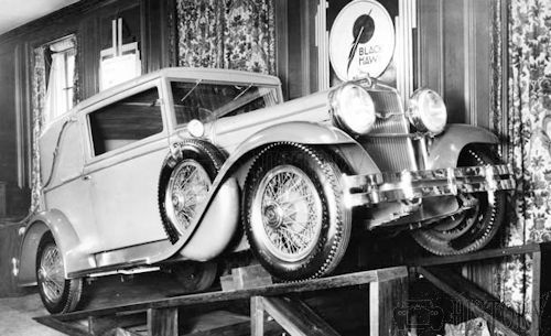 1929 Stutz Blackhawk car Factory photo usa
