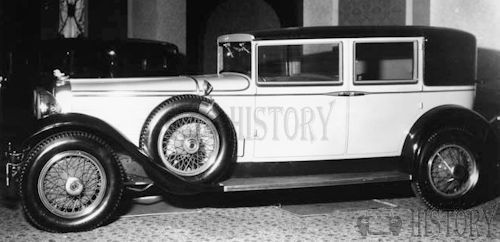 1929 Stutz Blackhawk sedan usa