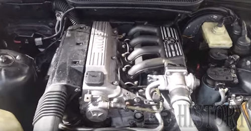 BMW M41 Straight-4 Diesel Engine  From 1994 to 2000