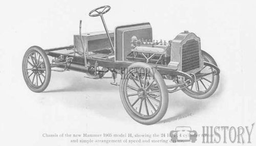 1905 Hammer Model 25HP touring Chassis