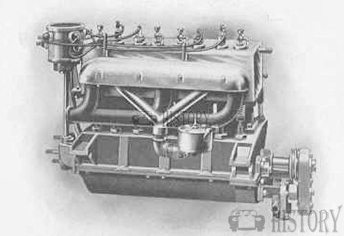 The Hammer 24 hp, four-cylinder engine from 1905