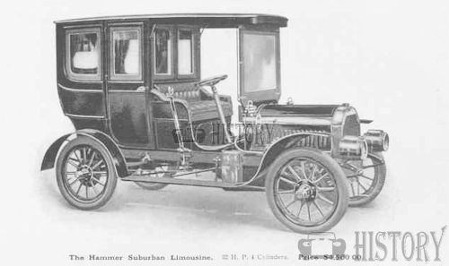 1905 Hammer Suburban limousine 32HP touring