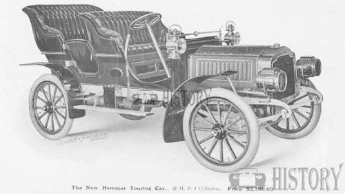 1905 Hammer Model 25HP touring usa