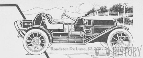 1911 Henry Roadster De Lux car usa