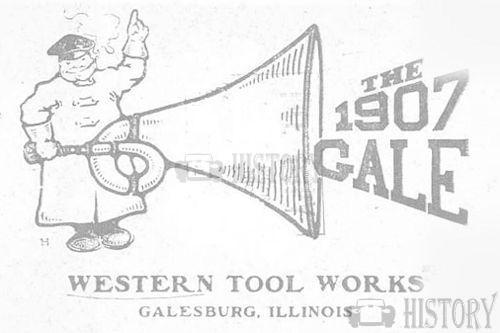 Gale Western Tool Works    American Automotive manufacturer Galesburg, Illinois. USA From 1904 to 1910