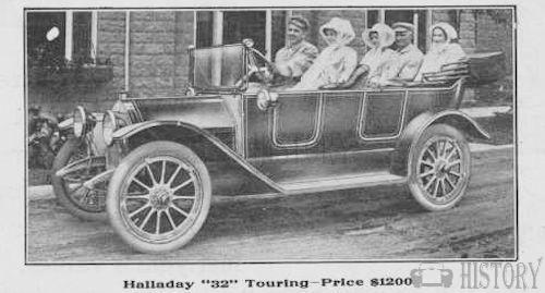 Halladay  American Automotive model 32 From 1913