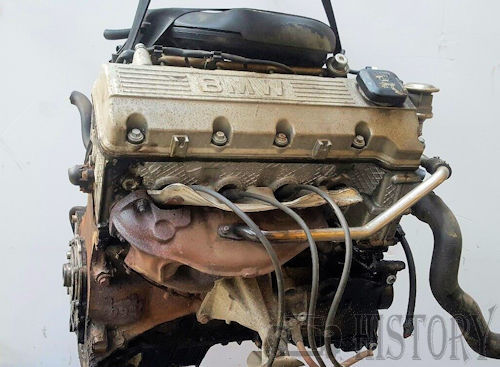 BMW M43 M43B11 SOHC Straight-4 Engine