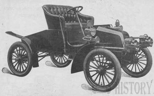 The 1904 Fredonia Runabout car