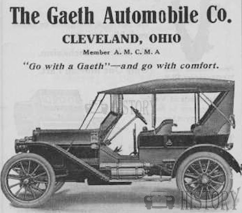 Gaeth    American Automotive manufacturer Cleveland, Ohio USA cars From 1902 to 1911