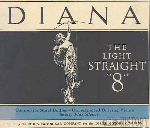 Diana Motors Company   American Automotive manufacturer St. Louis.USA From 1925 to 1928