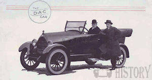 D.A.C.   American Automotive manufacturer Detroit, Michigan.USA From 1922 to 1923