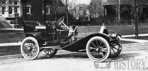 Anhut Motor Car Company  American Automotive manufacture Detroit, Michigan USA 1910 6 car