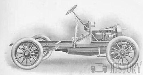 Bell Brothers  British Automotive manufacture 1906 16hp chassis