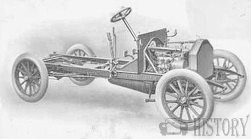 Bell Brothers  British Automotive manufacture 1906 20hp chassis