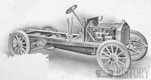 Bell Brothers  British Automotive manufacture 1906 30hp chassis