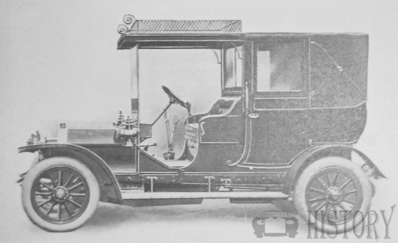 Bell Brothers  British Automotive manufacture 1910 landaulette 16hp