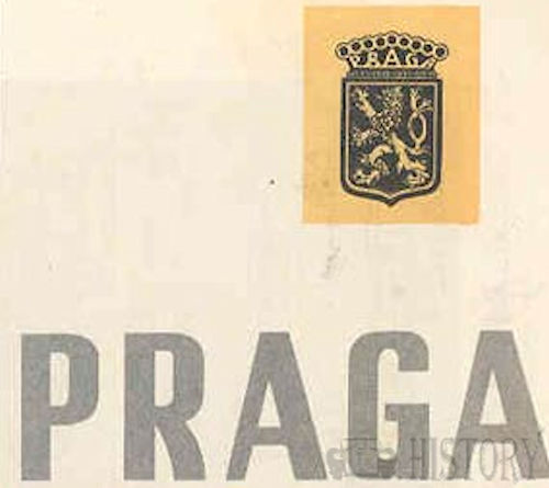 Praga  Automotive manufacture ,Prague, Czech Republic.. Produced from 1907 onwards