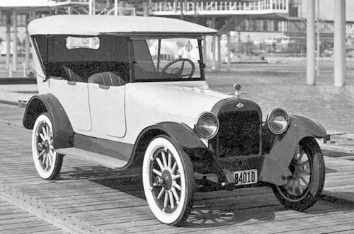 McLaughlin Touring Canadian automobile Produced 1920
