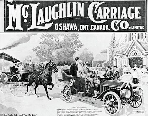 McLaughlin   Canadian automobile manufacture,Canada. Produced from 1907 to 1942