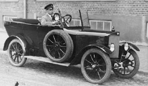 AB Thulinverken Swedish automobile type A