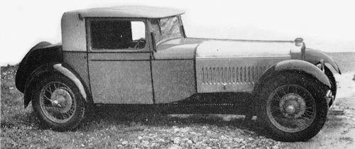 Alma  Car side view from 1926 to 1929.