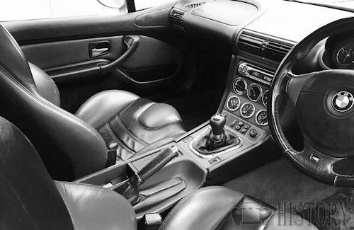 BMW Z3 Coupe E36/8 interior