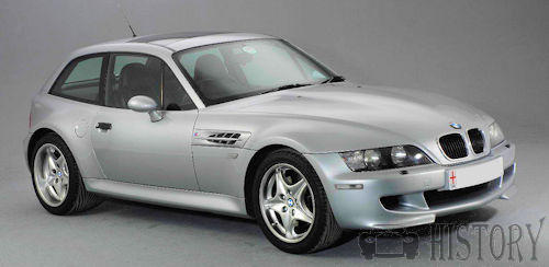BMW Z3 Coupe E36/8 history
