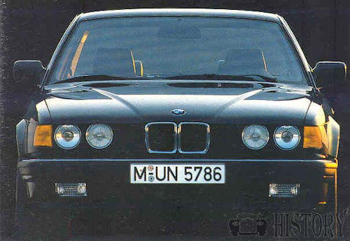 BMW 7 Series E32 front view 1989