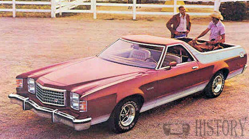 Ford Ranchero Seventh Generation history