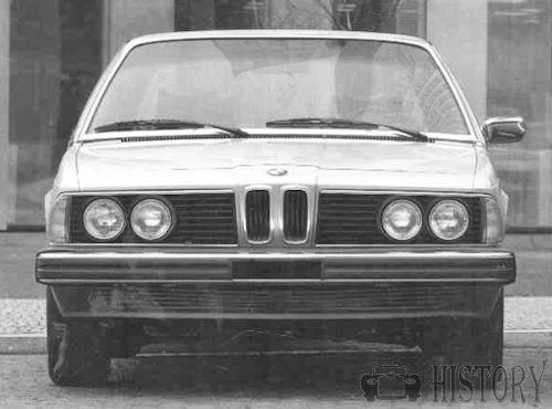 BMW 7 Series E23 front view
