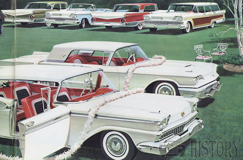 Ford Galaxie 1959 range
