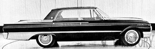 1961 Ford Galaxie Second Generation