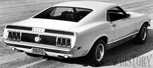 1970 Ford Mustang Mach I rear