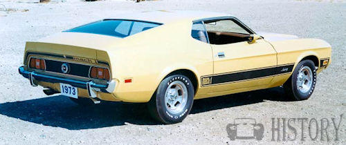1973 Ford Mustang Mach I rear