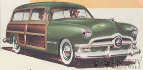 Ford Country Squire First generation history