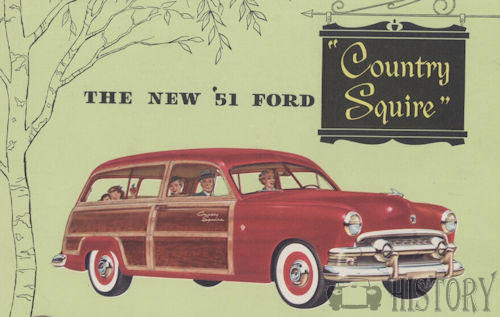 Ford Country Squire First generation 1951