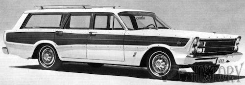 1966 Ford Country Squire Fifth generation