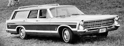 Ford Country Squire Fifth generation history