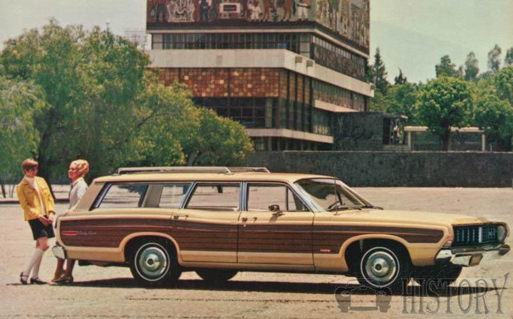 1968 Ford Country Squire Fifth generation