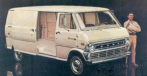 Ford Us Ford Econoline Van 2nd Gen 1968 74