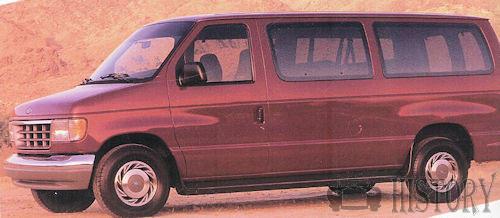 Ford (US) - Ford Econoline Van 4th Gen (1992–14)