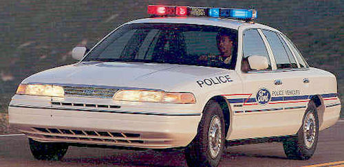 Ford Crown Victoria Police Interceptor history