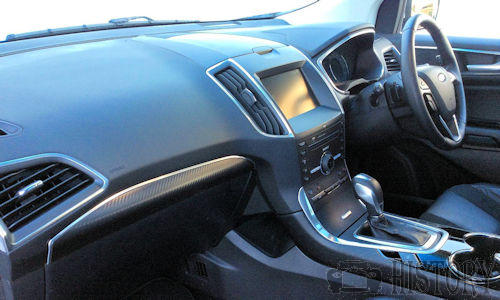 Ford Edge dash view