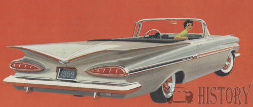 1959 Chevrolet Impala convertible Second generation