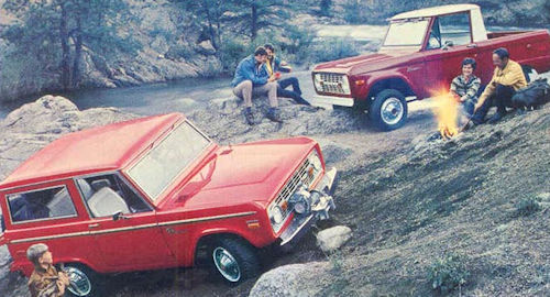 1966 Ford Bronco First Generation range 1970s