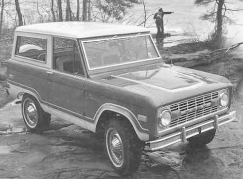 Ford Bronco First Generation history
