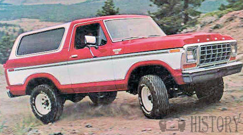Ford Bronco Second Generation
